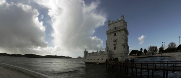 Belém tower in Belém - Torre de Belém em Belém
